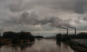 US ' Trump voters in Monroe County, MichiganViews of the DTE Energy Monroe Power Plant in the distance on Monday, Jan. 13, 2019 in Monroe, Mich. The plant is coal-fired. Erin Kirkland for the Guardian