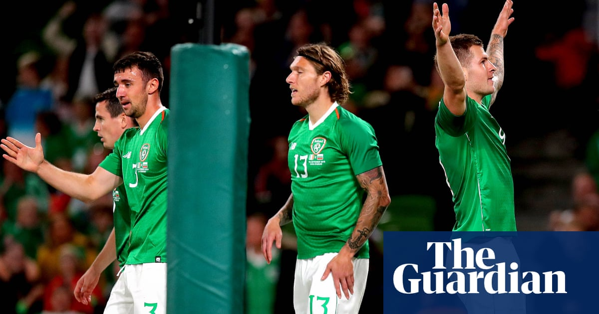 James Collins marks Ireland debut with goal in friendly win over Bulgaria