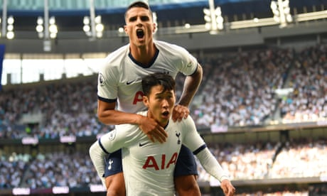 Super Son strikes twice as Tottenham demolish Crystal Palace