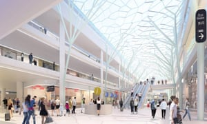 The €600m plans for the Gare du Nord were drawn up in partnership with the supermarket giant Auchan.
