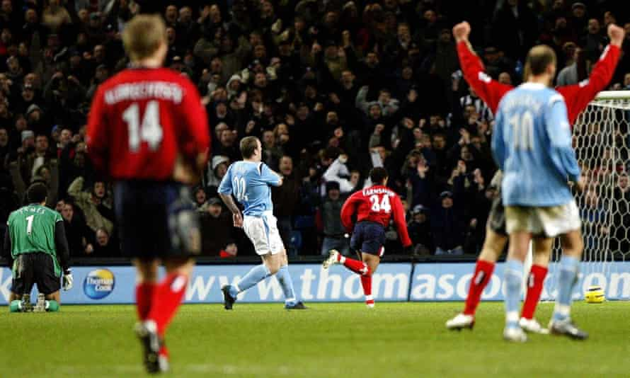 Richard Dunne puts the ball into his own net against West Brom.