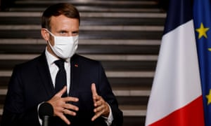 France Imposes Four Week National Lockdown To Combat Coronavirus World News The Guardian