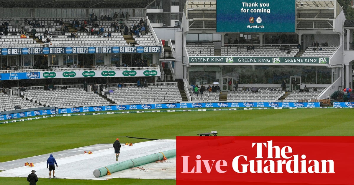 Ashes 2019: England v Australia second Test, day one washed out – as it didnt happen