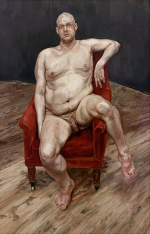 A ticket to the mainstream … one of Lucian Freud's portraits of Bowery.