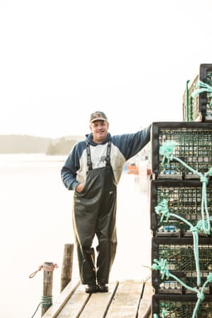 David Lanteigne, a fisherman on Nova Scotia's South Shore, after returning from an early morning fishing expedition.