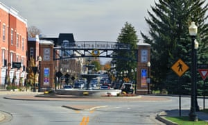 Carmel, Indiana, has installed 116 roundabouts in part to cut emissions from cars idling at traffic light intersections.