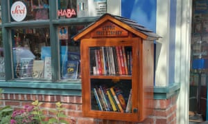 Engaging with the community... Big Blue Marble bookshop.