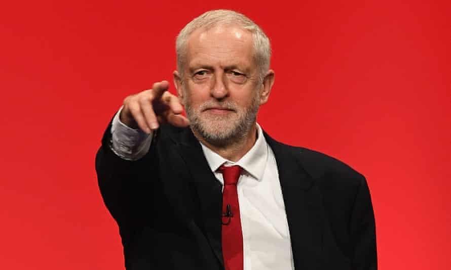 'Jeremy Corbyn: I am not a personality cult.'