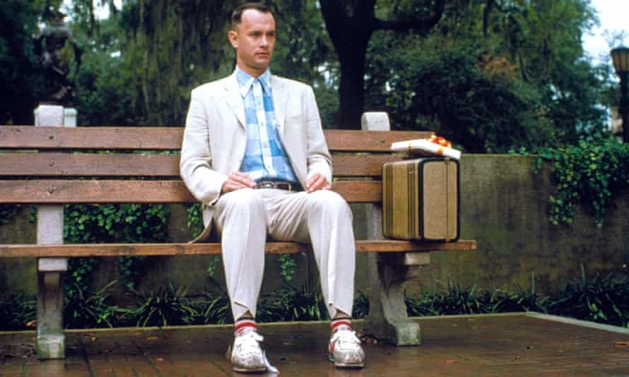 Tom Hanks won a best actor Oscar for his portrayal of Forrest Gump in the 1994 film.
