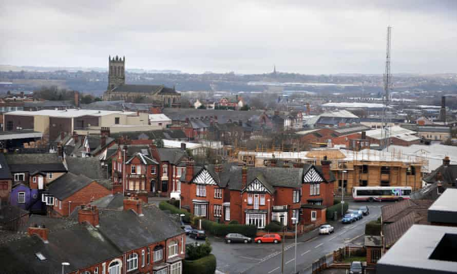 A view of Stoke-on-Trent, Staffordshire.