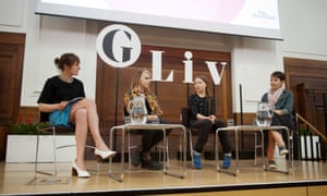 Panel at Guardian event attended by Greta Thunberg and other climate activists