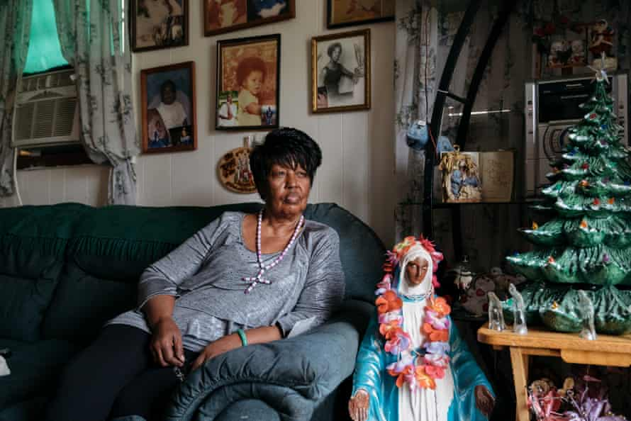 Vivian Majors at her home in Opelousas, Louisiana.