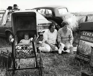 Steam In Fair, Horsham, 1972