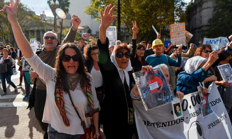 Four decades on and 2,037 marches later, the mothers are still marching.