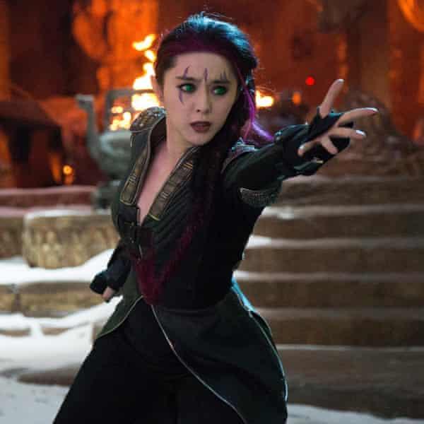 Fan Bingbing in 2014's X-Men: Days Of Future Past