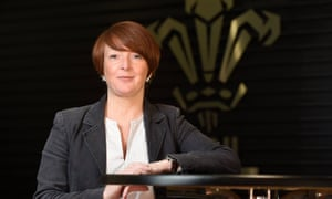 Julie Paterson, WRU head of rugby operations.