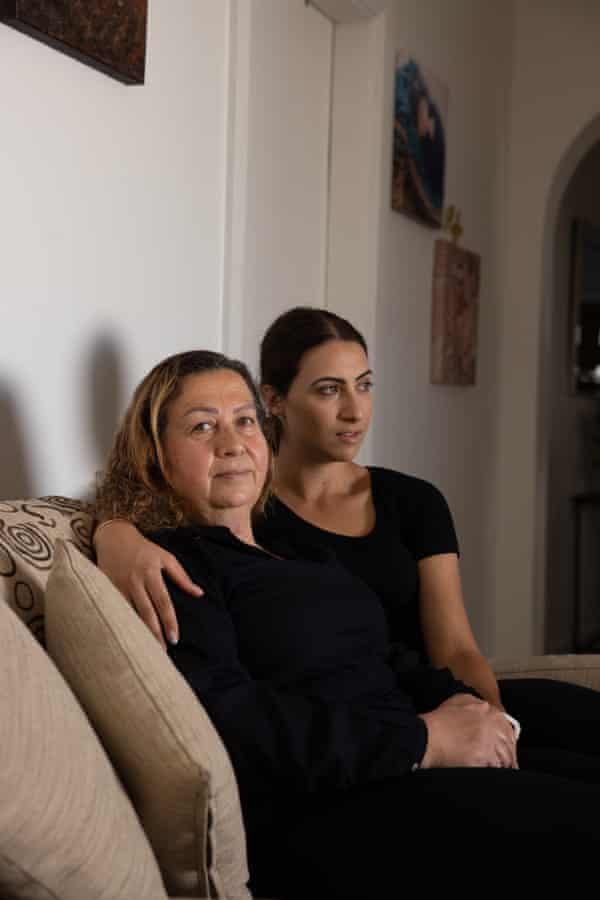 Najwa Rizk and her daughter Nicole.