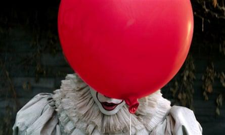 'Wonderfully scary' ... Bill Skarsgard in the 2017 remake of Stephen King's It.