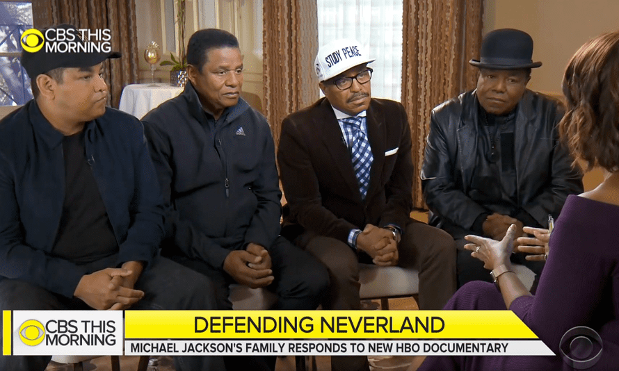 Michael Jackson's family on CBS This Morning