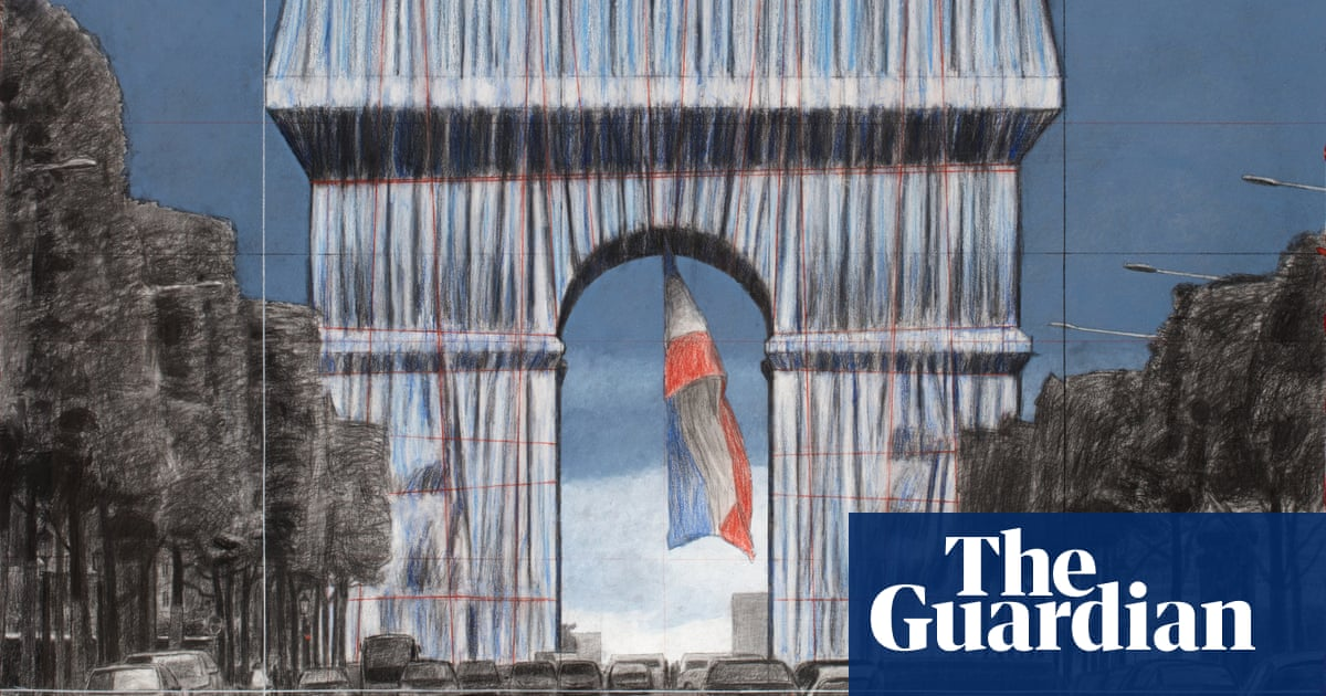L'Arc de Triomphe, Wrapped: Christo's dream being realised