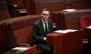 Tim Storer, an independent senator, has called for measures to crackdown on lobbyists, donations and misuse of public money.