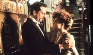 Daniel Day-Lewis and Helena Bonham Carter in A Room With a View.