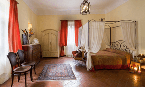 Bedroom at Il Palagetto Guest House, Florence, Italy