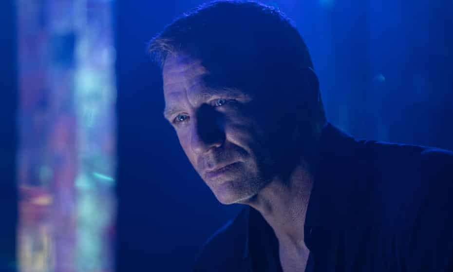 Remarkably, it's still a mystery … Daniel Craig in No Time to Die.