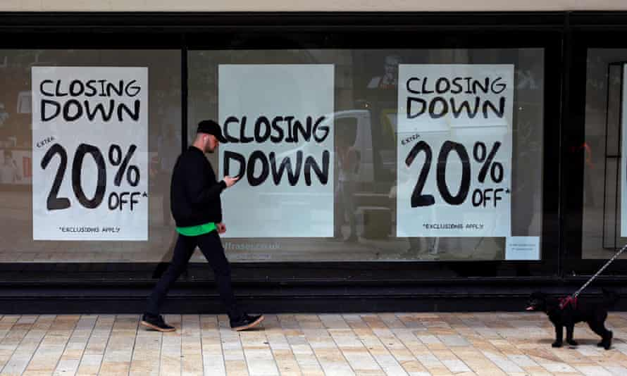 House of Fraser closing sale