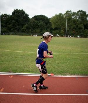 Ann Bath sets a world record.