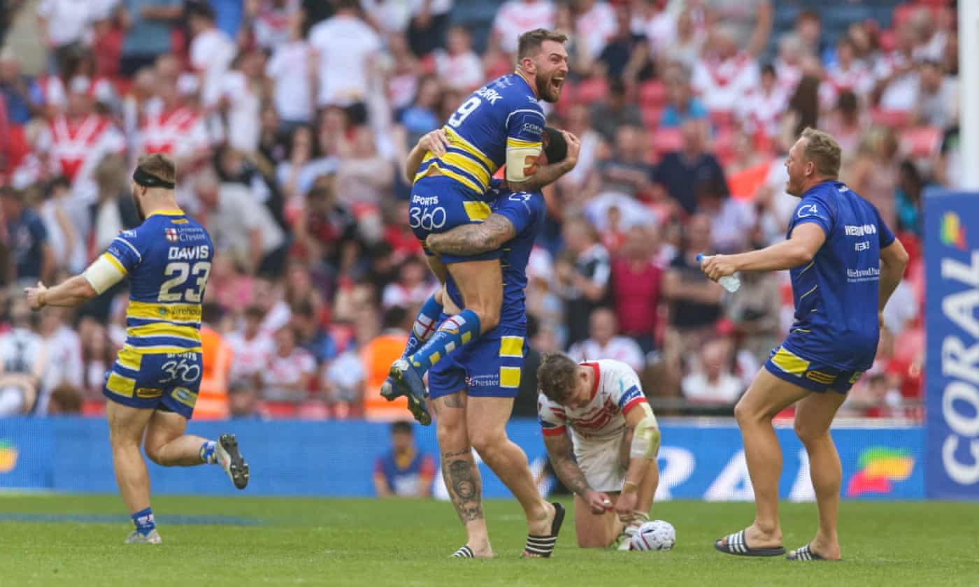 Warrington and Steve Price hope final glory can lead to grand double