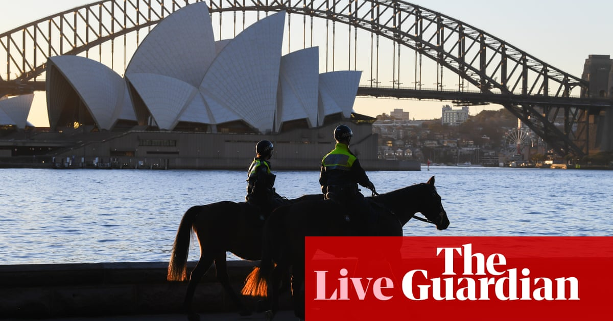 Australia Covid live update: army hits the streets in Sydney; aged care outbreak; parliament to return