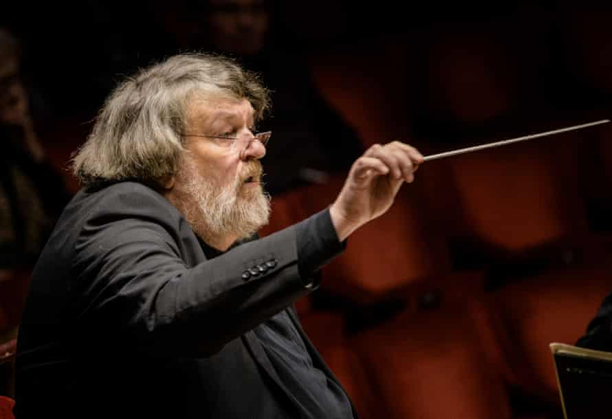Oliver Knussen in Stockholm of the Composer festival in his honour.