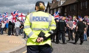 Police in Rotherham on 5 September 2015