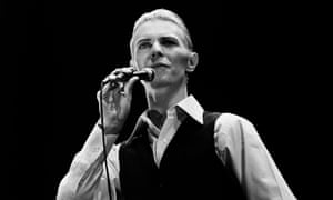 David Bowie's Thin White Duke persona, 1976.