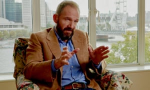 Ralph Fiennes as Norman Darbyshire in Coup 53.