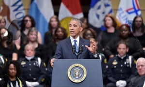 Barack Obama: 'We know there is evil in his world. It's why we need police departments.'