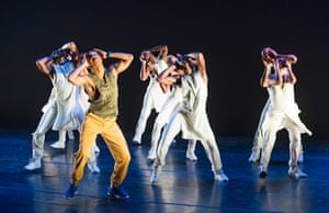 Suffering and redemption for the hip-hop generation … Alvin Ailey Dance Theatre perform Exodus at Sadler's Wells.