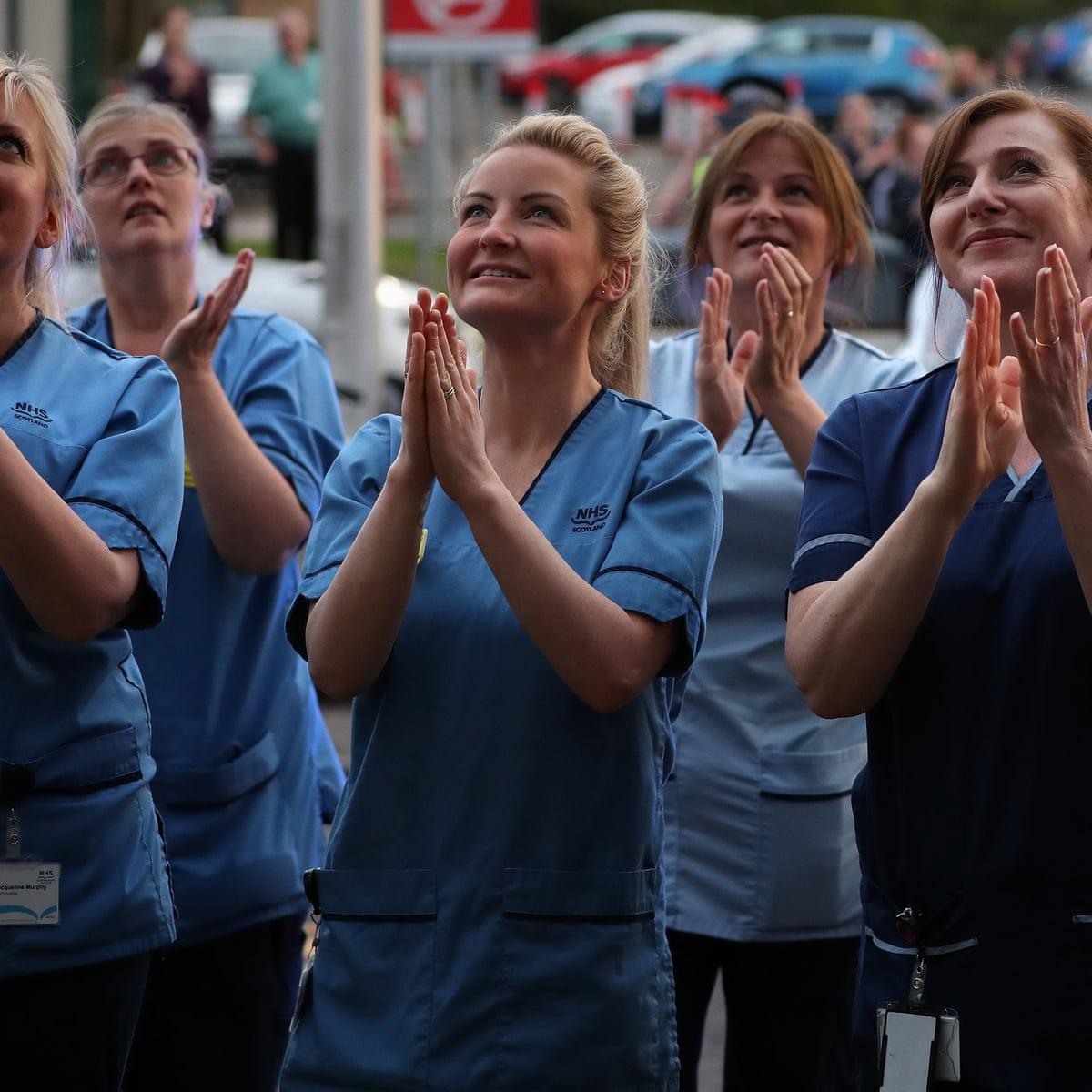 Uk Coronavirus News Britain Unites Again To Applaud Key Workers
