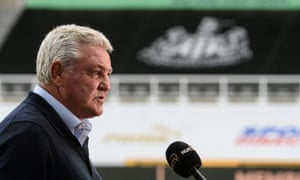 Newcastle's manager, Steve Bruce, is full of praise for the efforts made to enable his team to face Bournemouth on Wednesday evening.