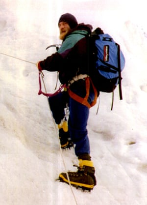 Nicknamed Big Yeti … Blessed on an expedition to climb Everest in 1993.
