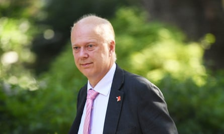 Chris Grayling was widely regarded as error-prone in his cabinet roles