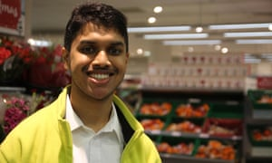 'It feels better to be paid': Neal Patel has just been offered a job by Waitrose.