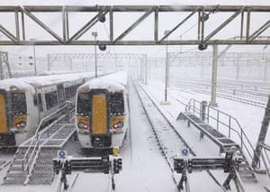 Shoeburyness rail depot