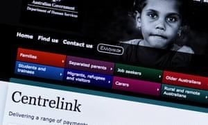 The Centrelink website
