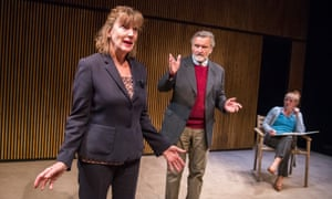 Enhances our understanding ... Karen Archer, Neil McCaul and Eliza Collings in The Other Place.