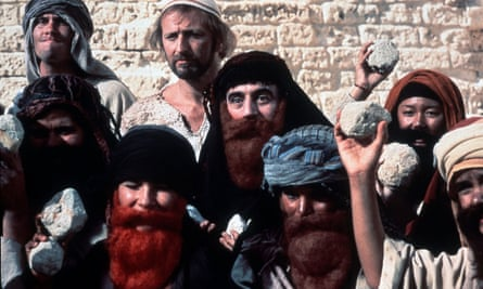 Monty Python's Life of Brian was banned by Belfast, but authorities in Derry bucked the trend and granted it a licence.