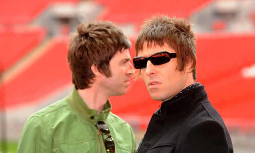 Liam Gallagher (right) says he has forgiven his brother Noel and wants to get their band Oasis back together.