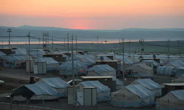 Khanke refugee camp, Iraq.