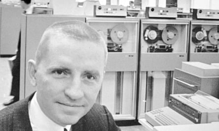 Ross Perot in 1968 at Electronic Data Systems.